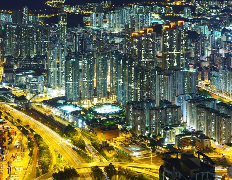 Download Городской пейзаж в Гонконге Стоковое Фото - изображение насчитывающей публика, афоризмов: 33737772