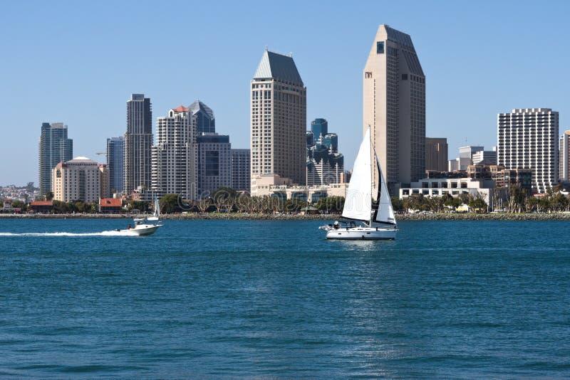 Download Городской пейзаж городского города Сан-Диего, США Стоковое Изображение - изображение насчитывающей метрополия, diego: 33737421
