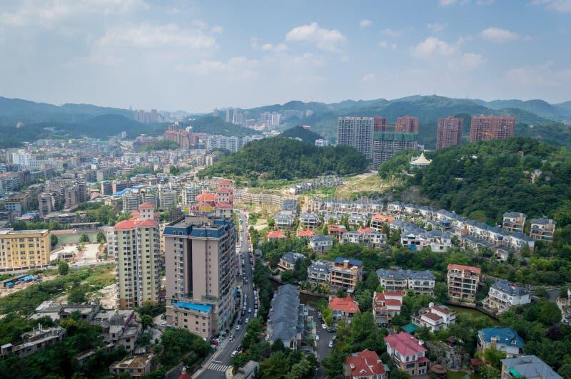 Городской пейзаж леса guiyang 9 стоковые фото
