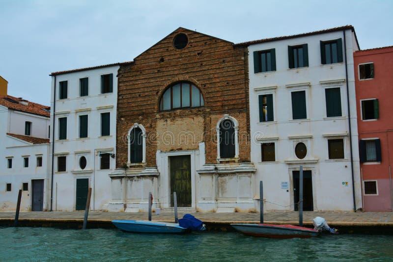 Городской пейзаж и исторические здания, Венеция, Италия стоковая фотография