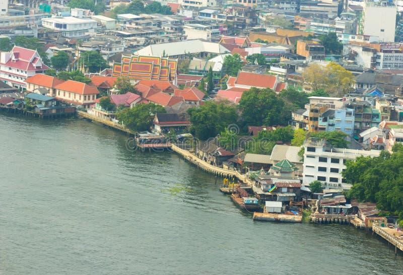 Download Городской пейзаж на взгляде портового района высоком Стоковое Изображение - изображение насчитывающей повышено, челки: 40577499