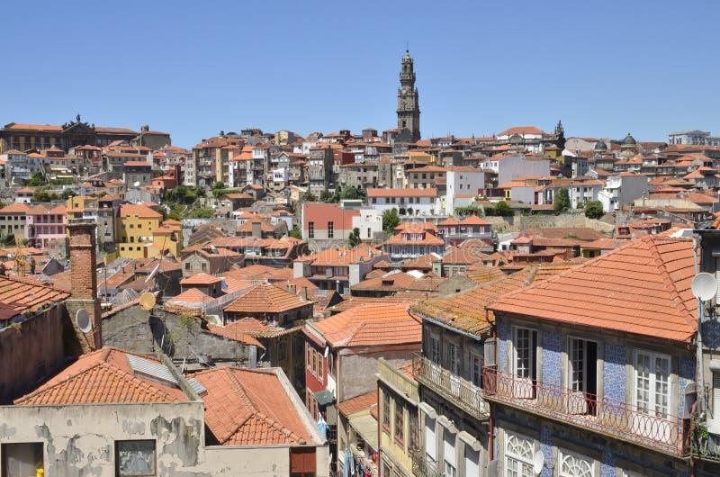Городской пейзаж Порту стоковое изображение