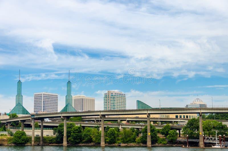 Городской пейзаж Портленда стоковое фото rf