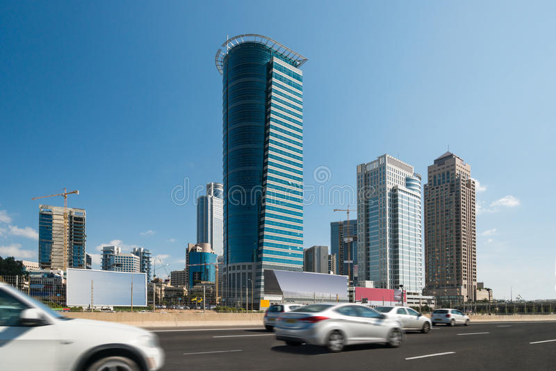 городской пейзаж самомоднейший стоковая фотография rf