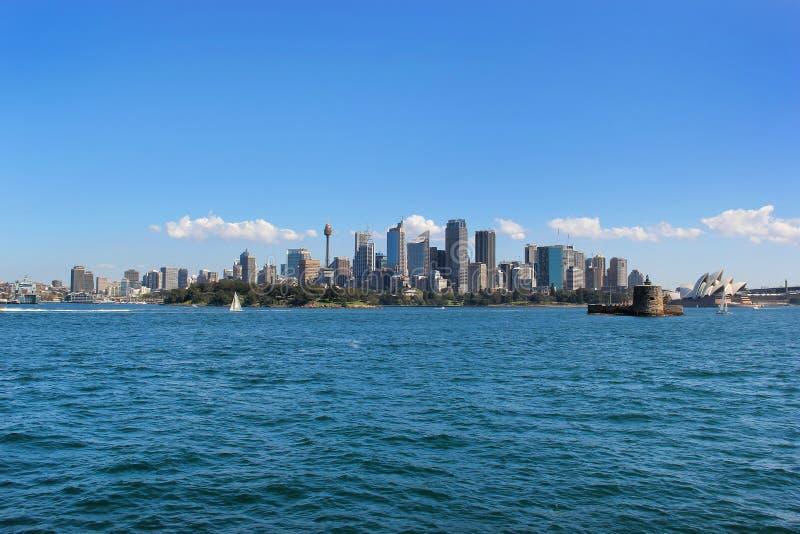 Городской пейзаж Сиднея стоковое изображение rf