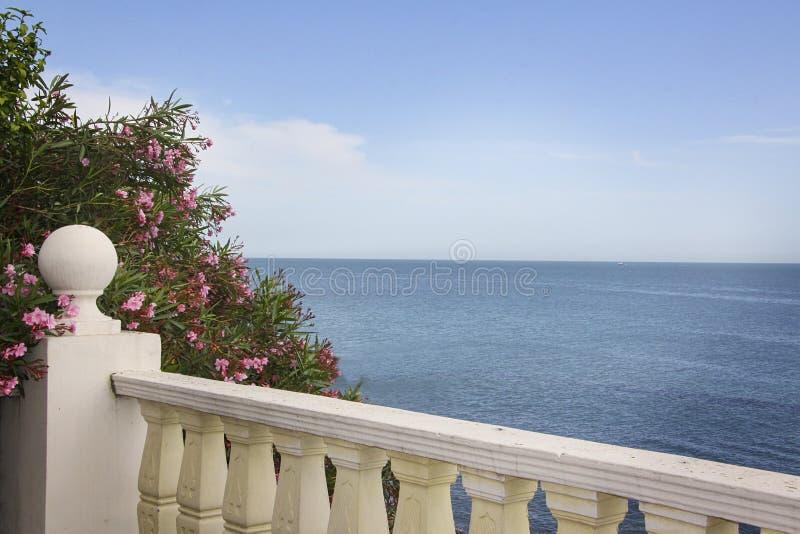 Городской пейзаж Сочи Пляж стоковые изображения rf