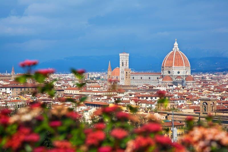 Городской пейзаж Флоренса стоковое фото rf