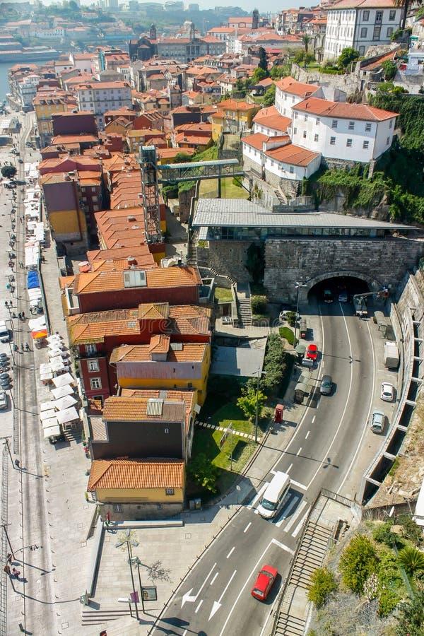 Городской пейзаж o Порту стоковые изображения