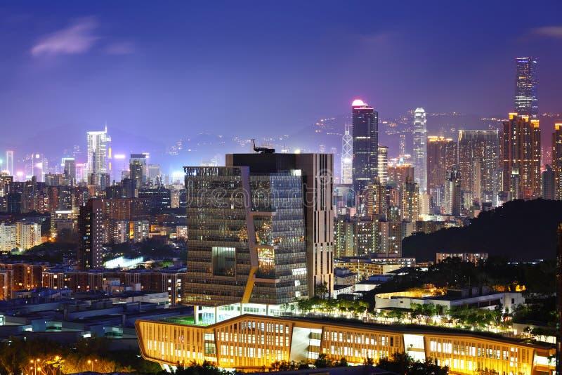 Download Городской район в Гонконге стоковое фото. изображение насчитывающей селитебно - 33737912