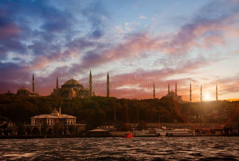 Город Стамбула старый стоковая фотография