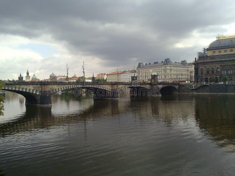 Город тумана стоковое фото