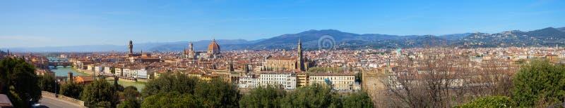 Город Флоренса в Тоскане, Италии стоковая фотография rf