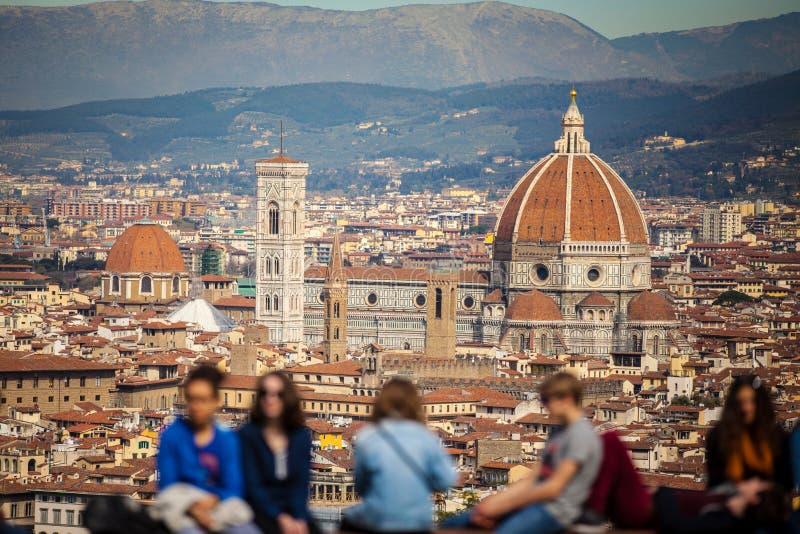 Город Флоренса в Тоскане, Италии стоковое фото