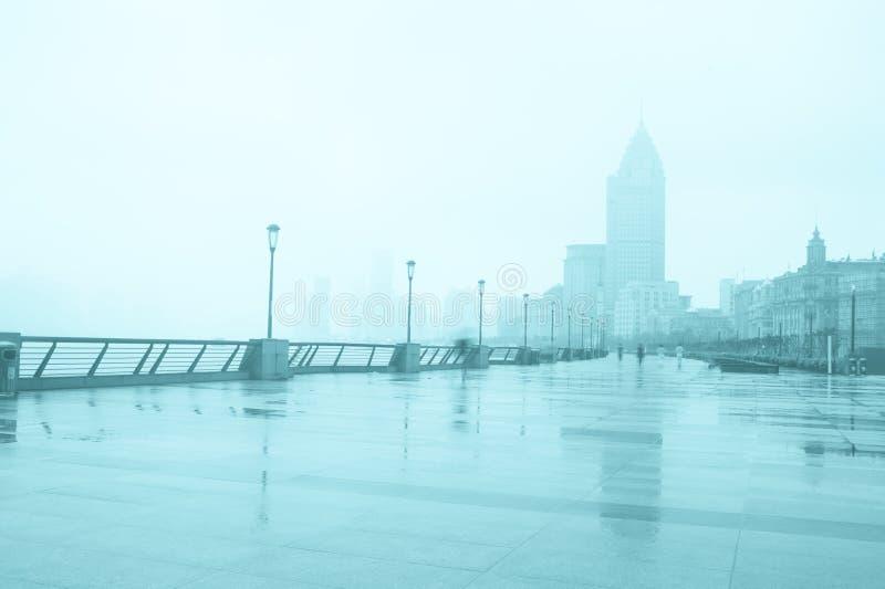 Город Шанхая стоковые фотографии rf