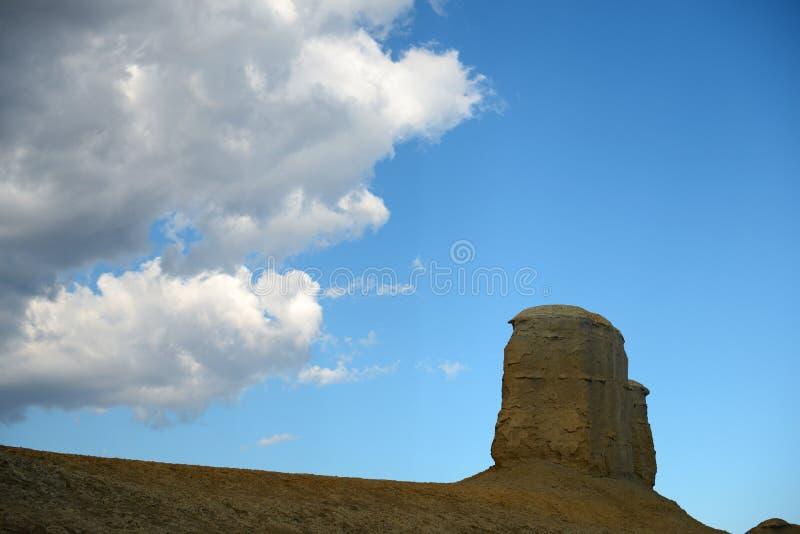 Город дьявола в Синьцзян-Уйгурский автономный район стоковые изображения