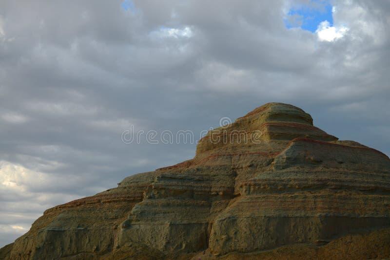 Город дьявола в Синьцзян-Уйгурский автономный район стоковое фото