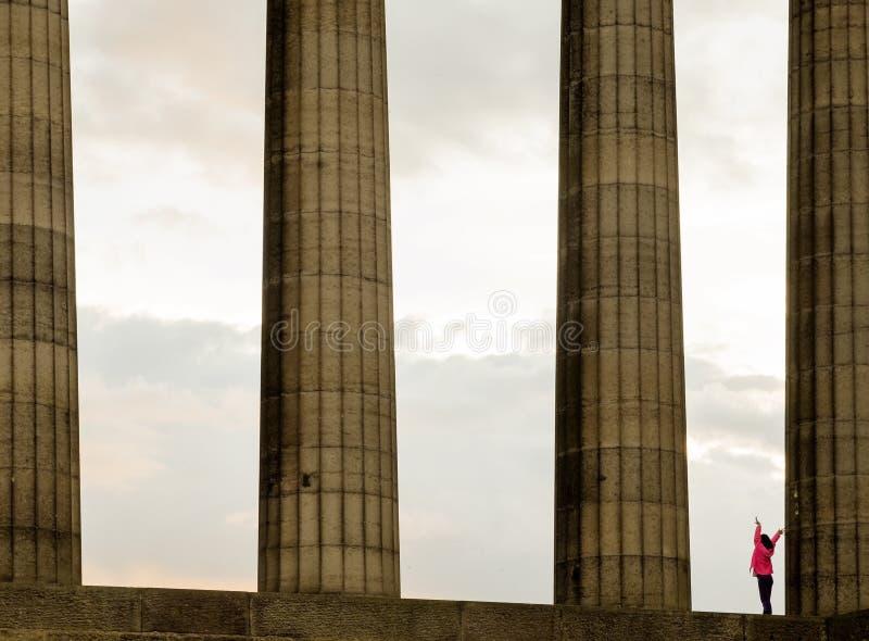 Город Эдинбурга стоковое изображение rf