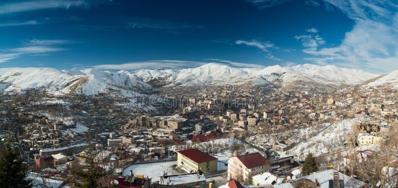 Город Bitlis стоковая фотография rf