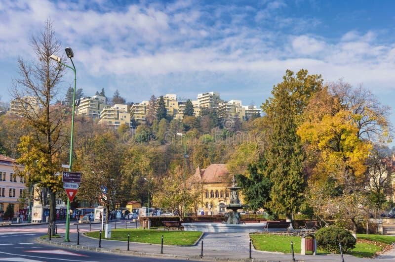 Город Brasov стоковая фотография