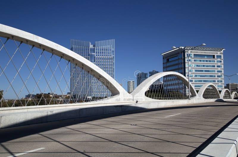 Город Fort Worth стоковое фото