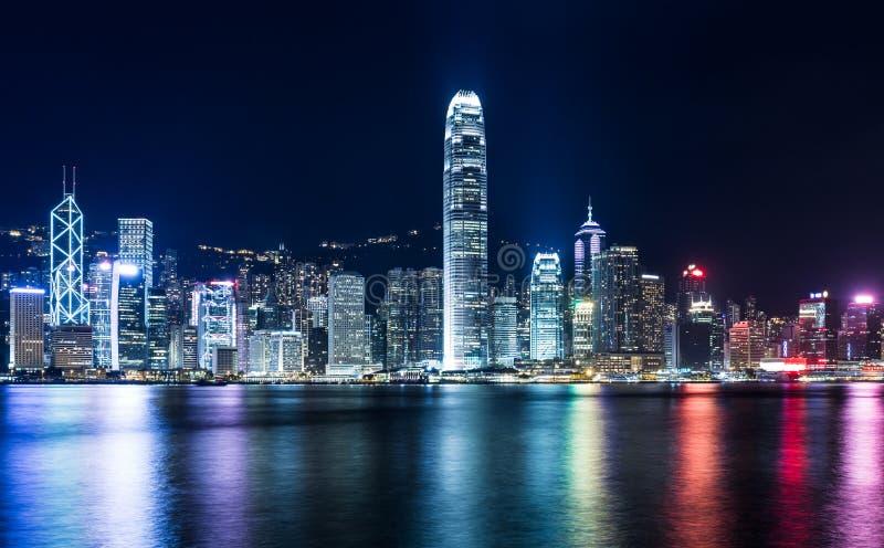 Download город Hong Kong стоковое изображение. изображение насчитывающей небоскреб - 33737407