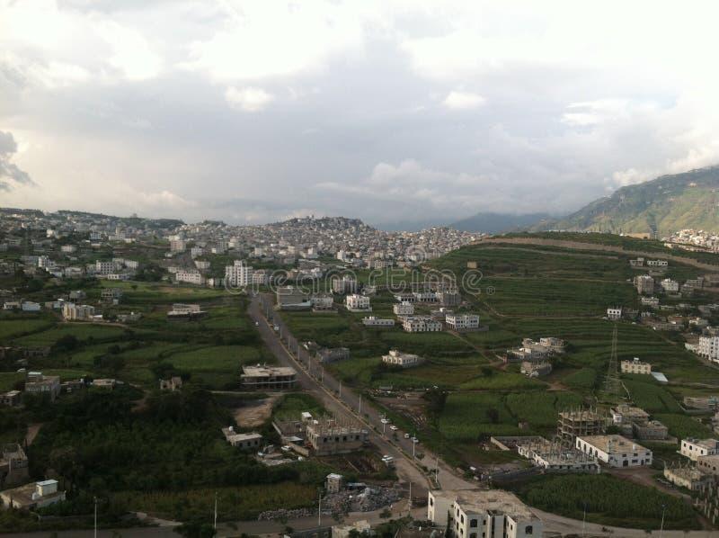 Город Ibb стоковое изображение