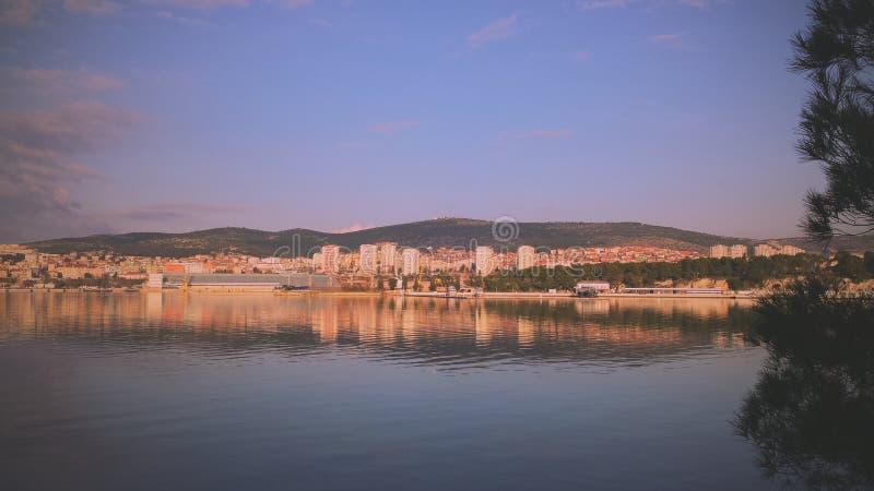 Городibenik Å в Хорватии стоковое изображение