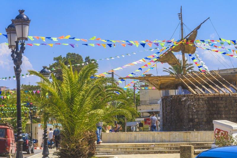 Город Jijel стоковые фотографии rf