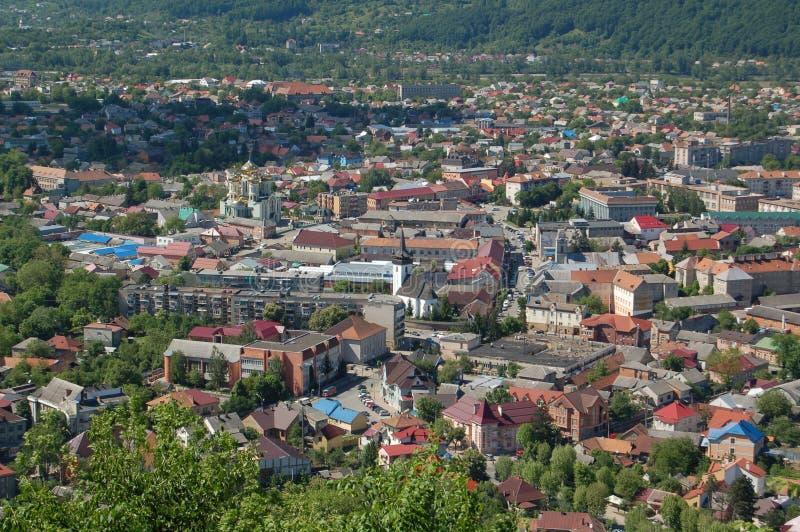 Город Khust стоковые изображения rf