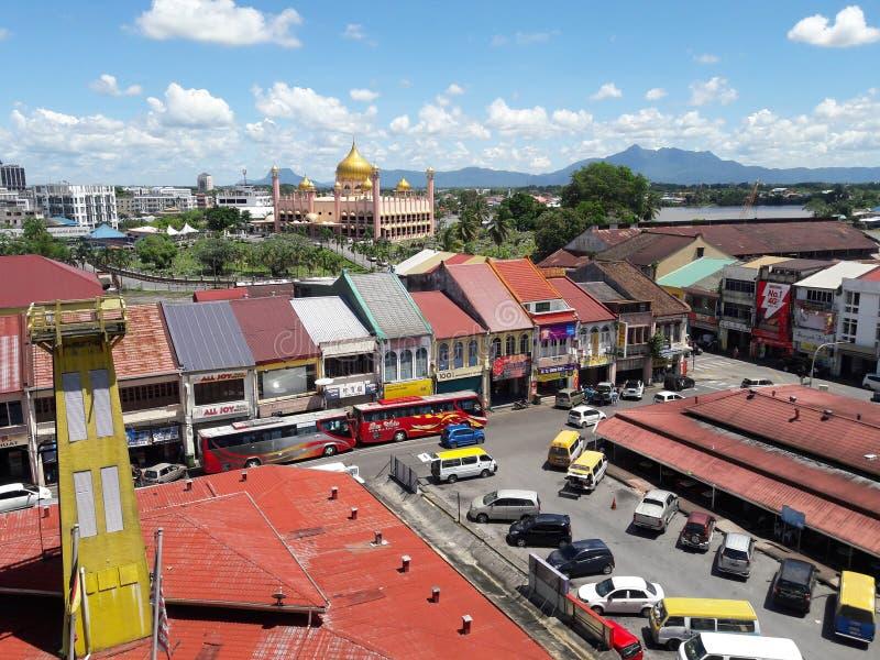 Город Kuching стоковые фото