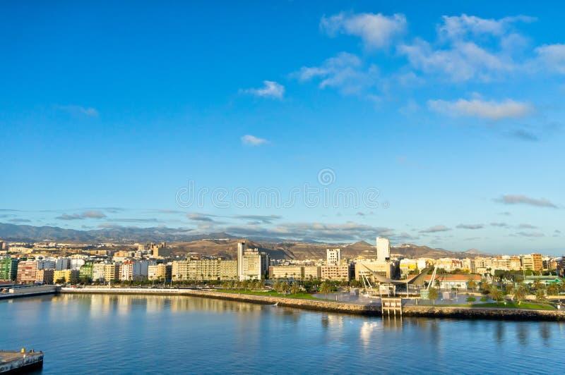 Город Las Palmas, Gran Canaria, Испания стоковые фотографии rf