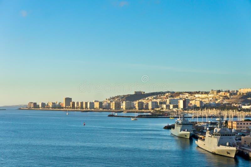 Город Las Palmas, Gran Canaria, Испания стоковые фото
