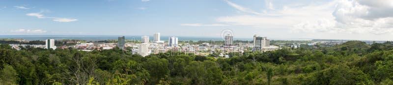 Город Miri стоковое изображение