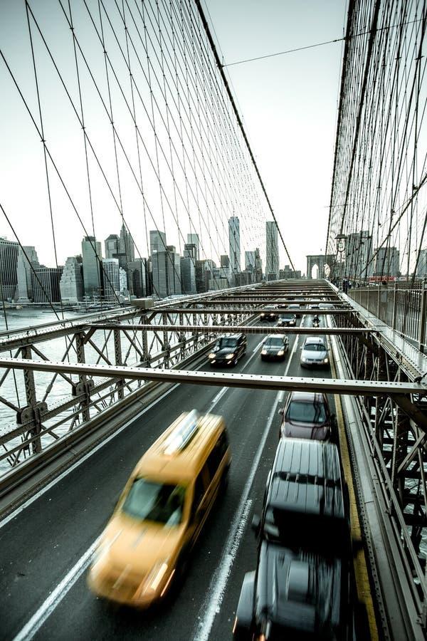 город New York мост brooklyn стоковое изображение rf