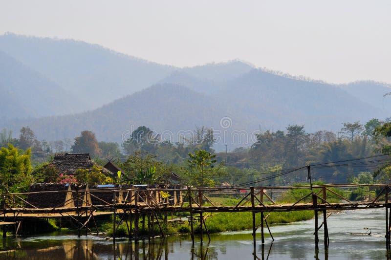 Город Pai стоковое фото