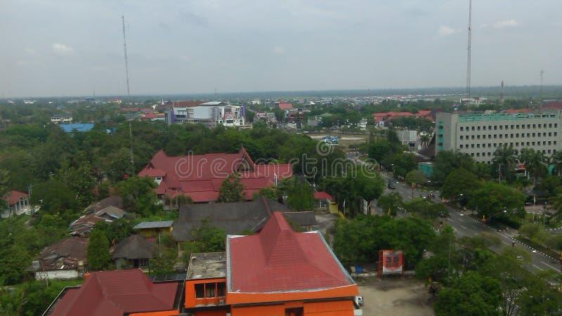 Город Palangka Raya стоковая фотография rf