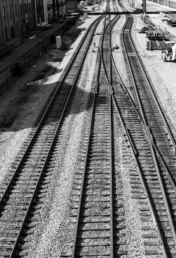 Город Railyard Roanoke стоковая фотография rf