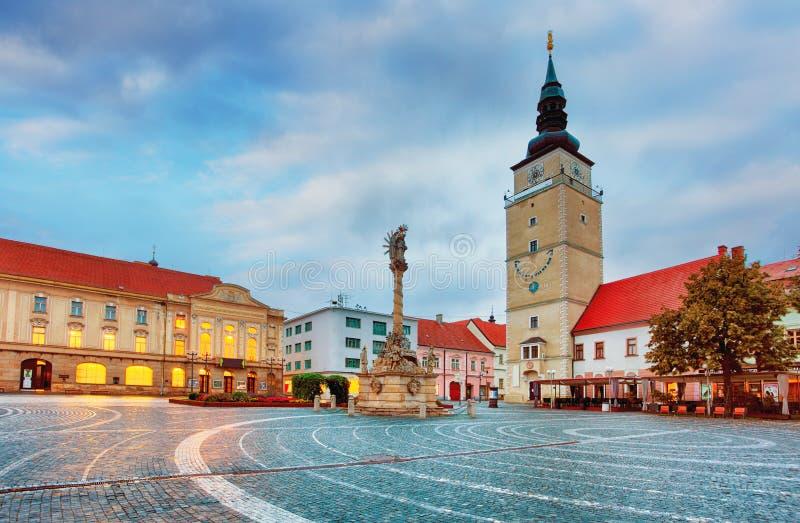 Город Trnava, Словакия стоковое изображение