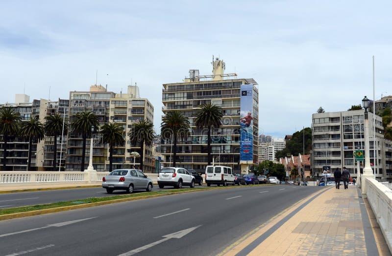 Город Vina Del Mar стоковая фотография