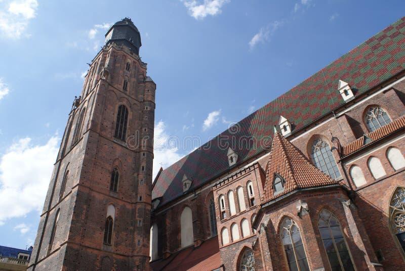 Город Wroclaw стоковые фотографии rf