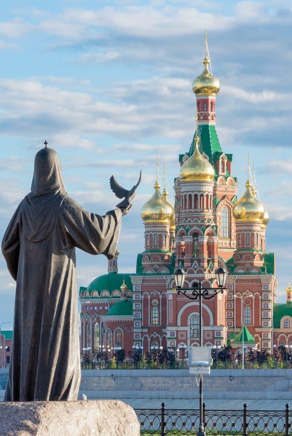 Город Yoshkar-Ola Россия стоковые фото