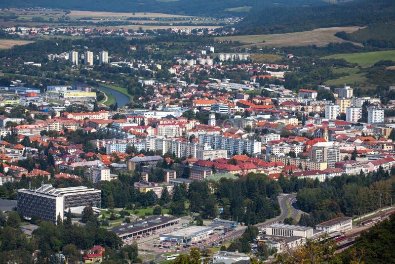 Город Zvolen, Словакия стоковое фото rf