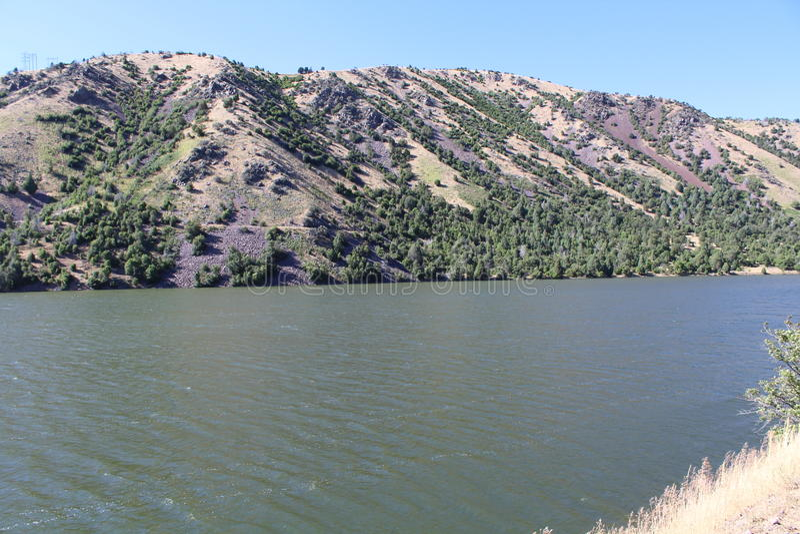 горы Айдахо стоковое изображение rf