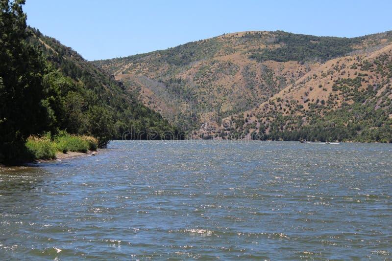 горы Айдахо стоковая фотография rf