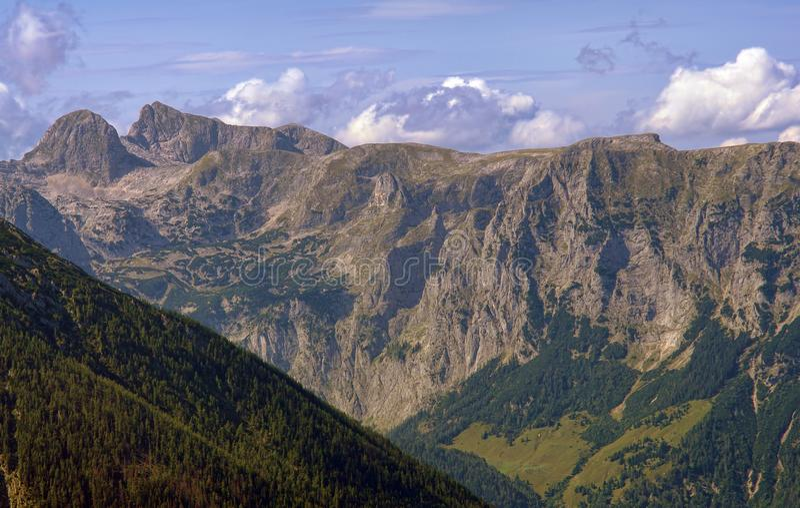 Горы Альпов от Баварии, Германии стоковое фото rf