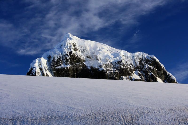 горы Антарктики стоковые изображения rf