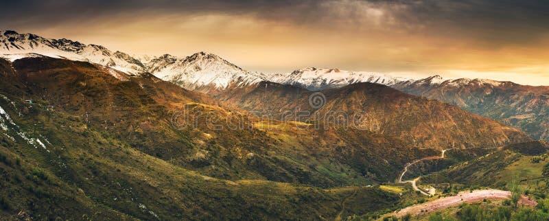 Андийские высоты стоковое изображение rf