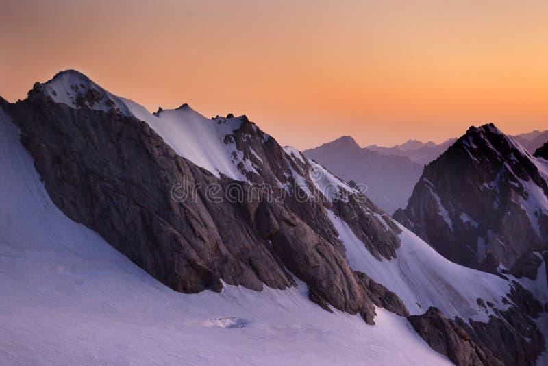 горы вентилятора стоковые фото