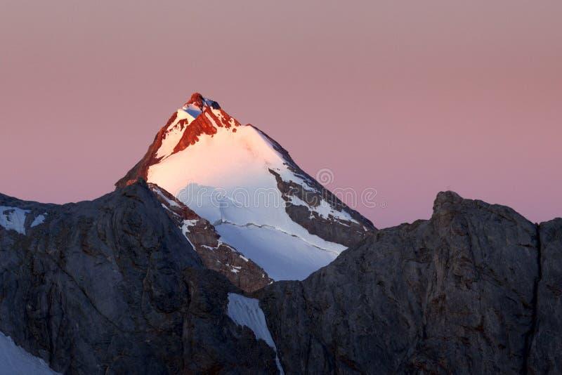 горы вентилятора стоковая фотография