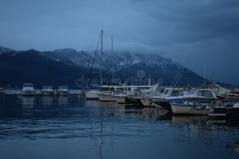 Горы вокруг Адриатического моря! стоковое фото rf